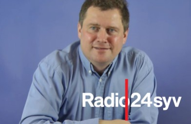 Tom Gillesberg på Radio24syv
