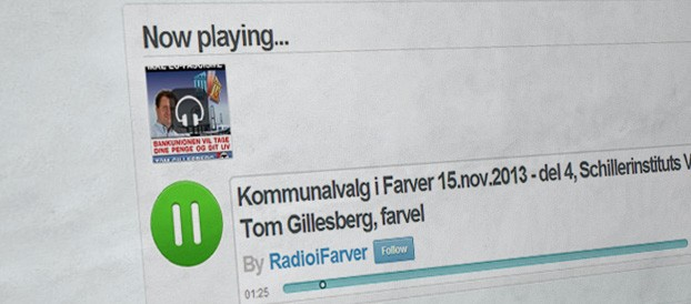 Radio i farver / Universitetsradio interview med Tom Gillesberg
