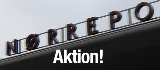 Aktion: Schiller Instituttets Venner ved Nørreport station