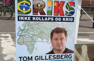Jyllands-posten: Ahva? Se valgkampens mest overraskende valgplakater, den 28. maj 2015