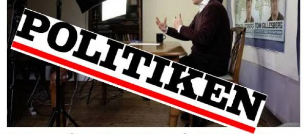 Politiken bringer stort interview med Tom Gillesberg:Han går til valg på faren for atomkrigden 3. juni 2015