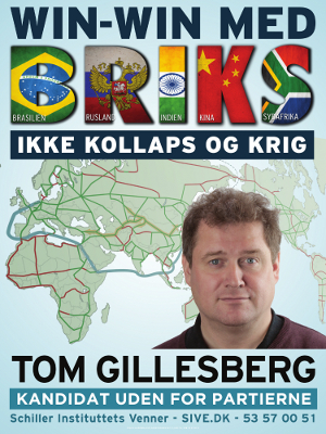Valgmøde med Tom Gillesberg den 16. juni 2015