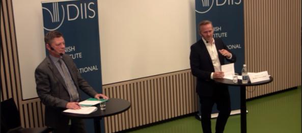 Den danske udenrigsminister Anders Samuelsen anerkender Schiller Instituttets Venners kampagne for Den Nye Silkevej
