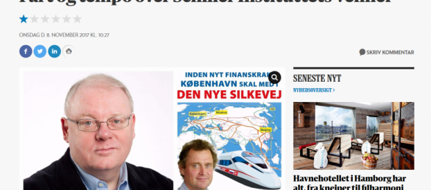 B.dk: »Fart og tempo over Schiller Instituttets Venner«