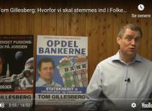Tom Gillesberg: Hvorfor vi skal stemmes ind i Folketinget. 3. maj 2019