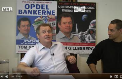 Video og lyd: Vær med til at skabe historie — to uger til valget. Tom Gillesberg (København) og Christian Bechmann Olesen (Københavns omegn)