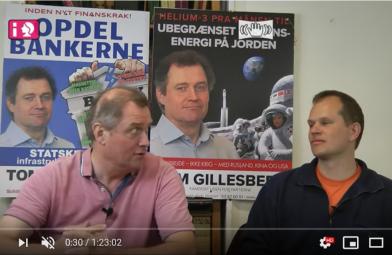 Schiller Instituttets Venners VALGMØDE med Tom Gillesberg (København) og Hans Frederik Brobjerg (Nordsjælland) den 9. maj 2019