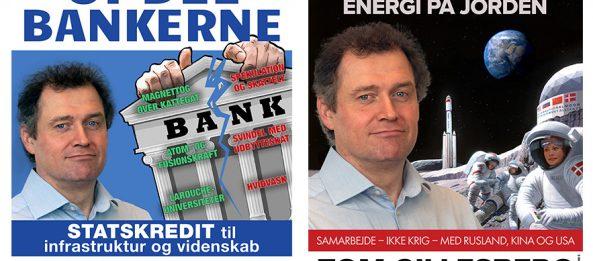 Vær fremsynet: Stem på Tom Gillesberg (København) eller de andre kandidater uden for partierne fra Schiller Instituttets Venner